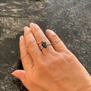 Beautiful glass ring